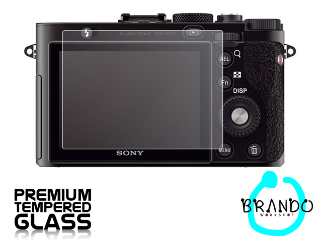 Brando Workshop Premium Tempered Glass Protector for Camera (Sony DSC-RX1)