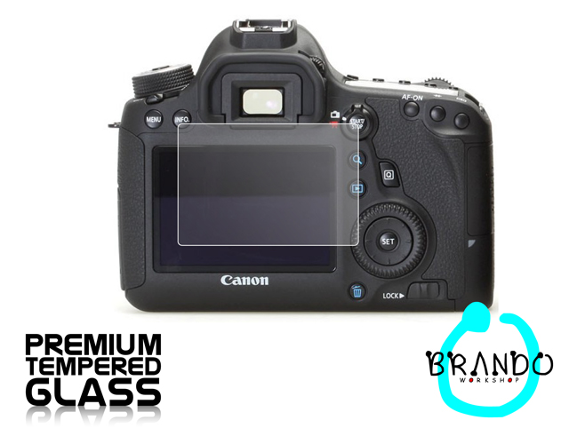 Brando Workshop Premium Tempered Glass Protector for Camera (Canon EOS 6D)