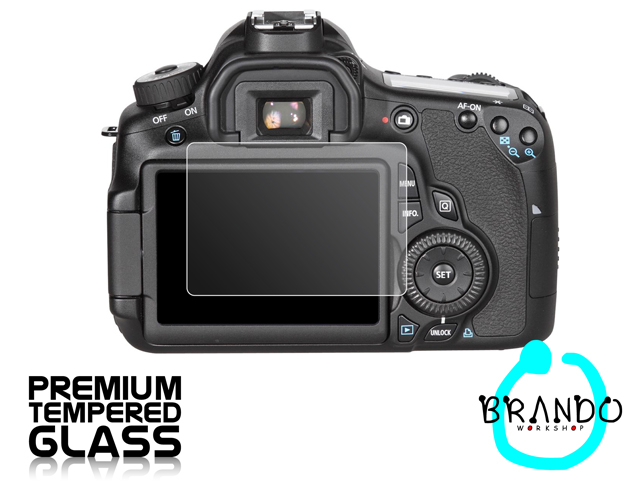 Brando Workshop Premium Tempered Glass Protector for Camera (Canon EOS 60D)