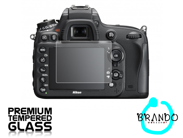 Brando Workshop Premium Tempered Glass Protector for Camera (Nikon D600)