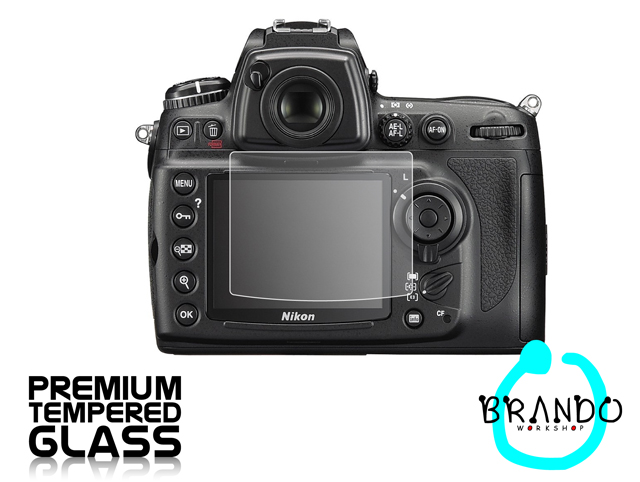 Brando Workshop Premium Tempered Glass Protector for Camera (Nikon D700)