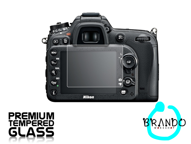 Brando Workshop Premium Tempered Glass Protector for Camera (Nikon D7100)