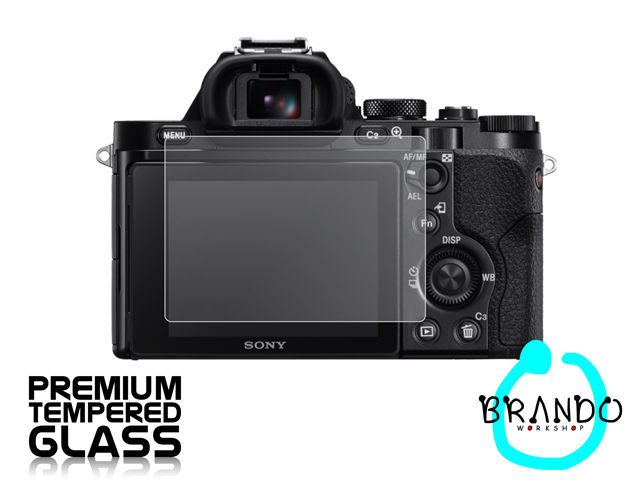 Brando Workshop Premium Tempered Glass Protector for Camera (Sony a7R)