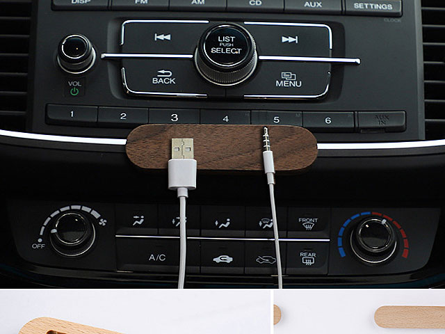 Wooden Magnetic Cable Holder