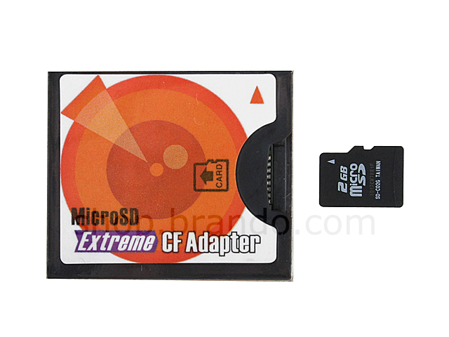 Extreme Micro SD to Type I CF Adapter