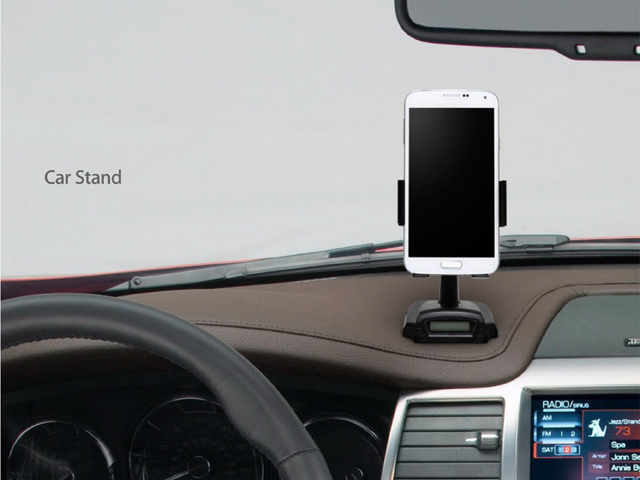 Smart Stand with Charge + Handsfree + FM Transmitter