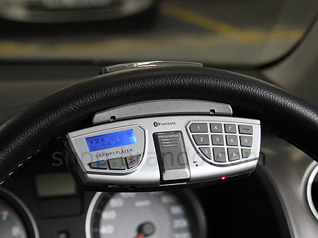 Steering Wheel Bluetooth MP3/FM Car Kit