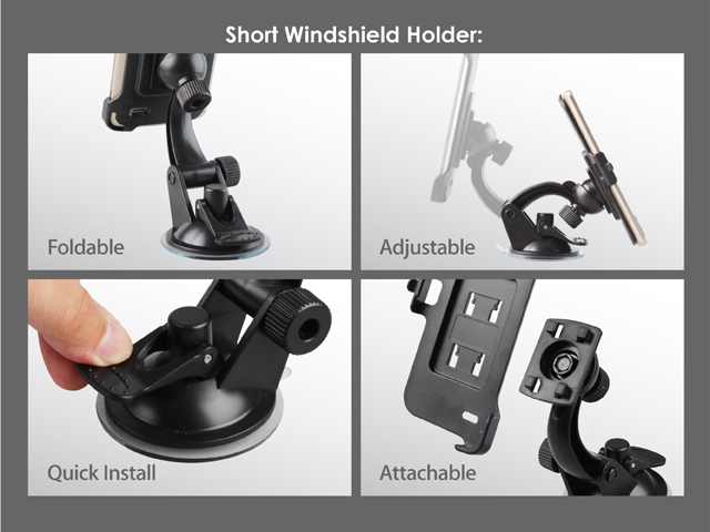 LG G3 Windshield Holder
