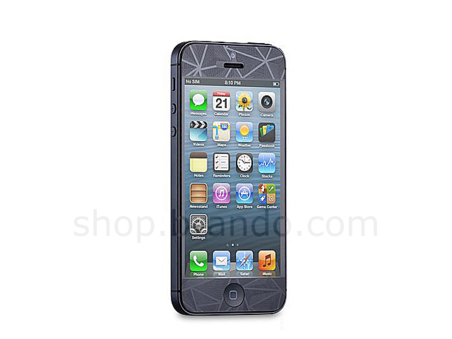 iPhone 5 Diamond Screen Protector Front / Rear Set