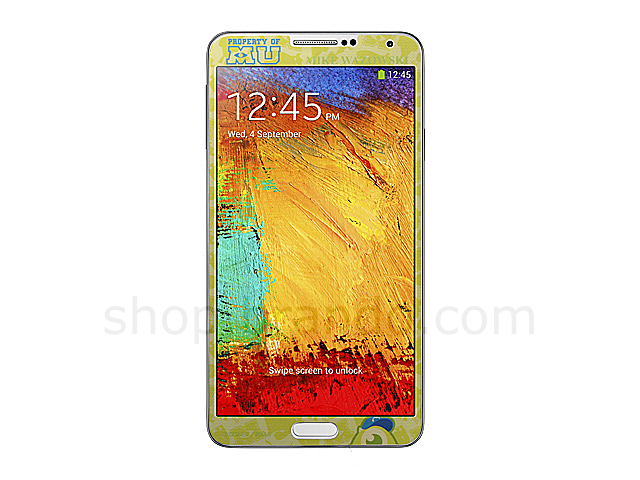 Samsung Galaxy Note 3 Front Screen Protector - Mike