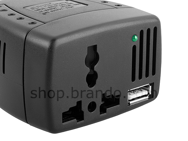 12V to 220V Power Inverter with USB Port II