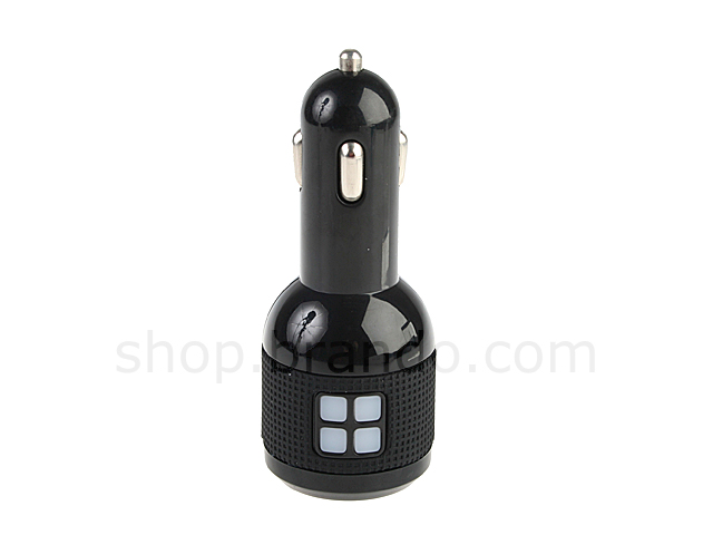 Dual USB Ports Car Adapter (CC26-IPA)