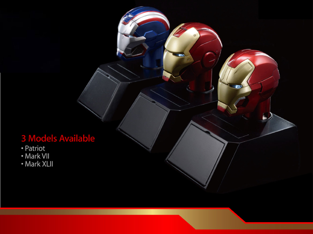 Ironman Collectible Bust Car Mounted Charger