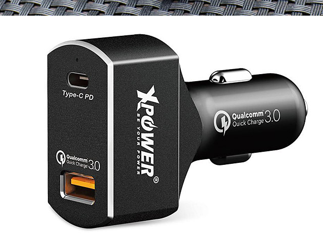 XPower CC2QD 2 Port 63W PD3.0 & QC3.0 Car Charger