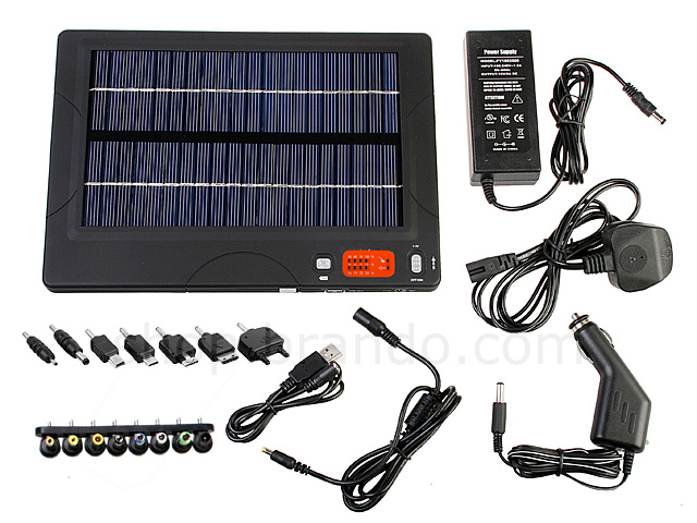 Portable Multi-Purpose Solar Charger II (20,000mAh)
