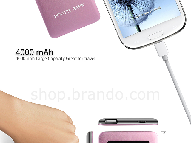 Palm Sized Power Bank (4000mAh)