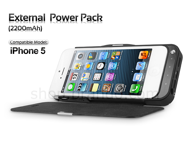 iPhone 5 External  Power Pack (2200mAh)