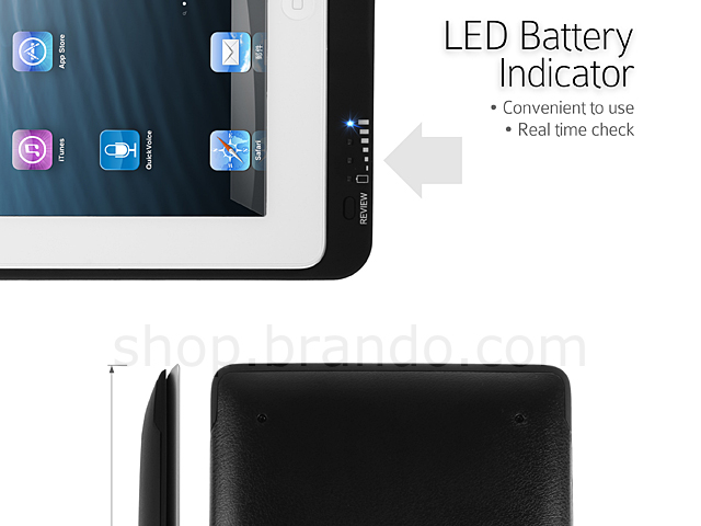 iPega  Power Jacket for The New iPad with Retina Display (9000mAh)
