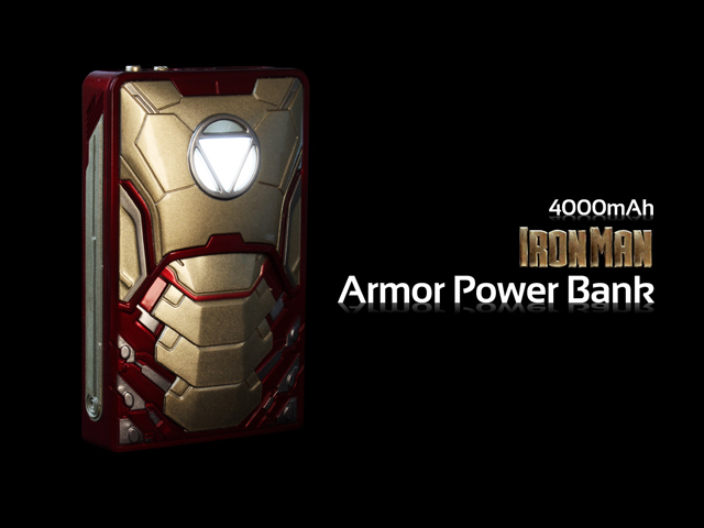 Iron Man Armor Power Bank 4000mah