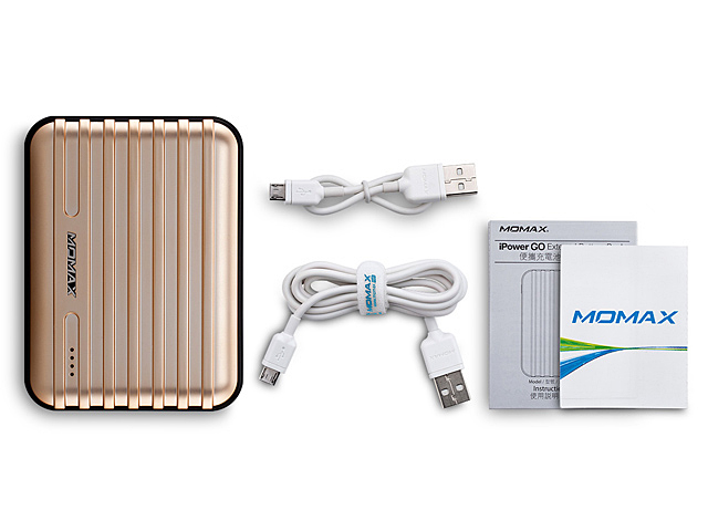 Momax 11200mAh iPower GO+ Dual USB Output (2.1A+1A) External Battery