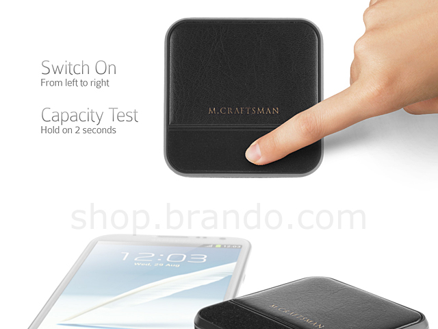 M.Craftsman Breathe - Luxury Portable Charger 5500mAh