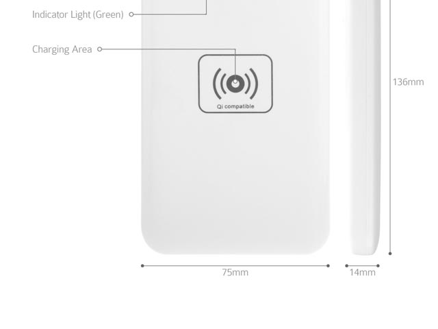 Wireless Power Bank 4800mAh