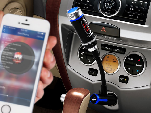 Bluetooth FM Transmitter Car Charger