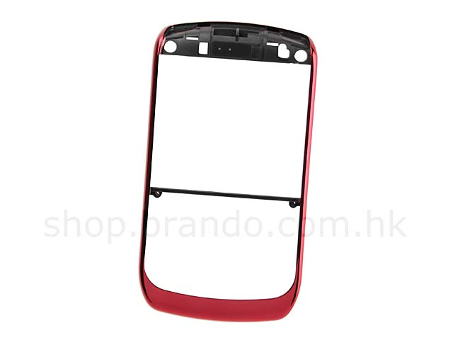 BlackBerry Curve 8900 / 8930 / 9300 Replacement Front Cover - Red