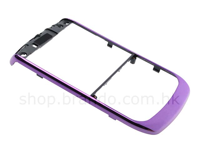 BlackBerry Curve 8900 / 8930 / 9300 Replacement Front Cover - Purple