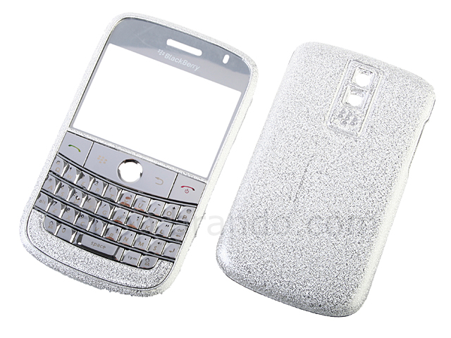 Blackberry Bold 9000 Replacement Housing - Frosted Silver