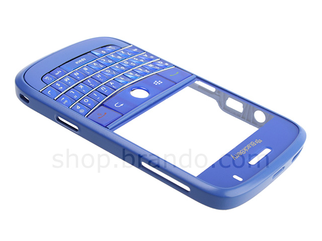 BlackBerry Bold 9000 Replacement Front Housing - Blue