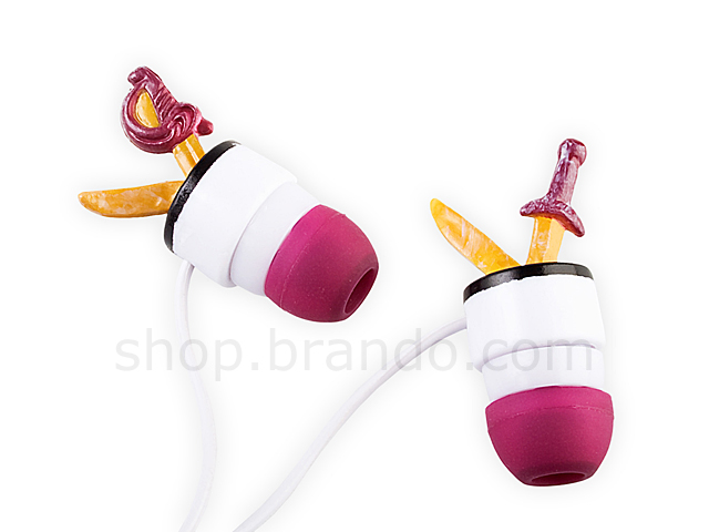 Disney Pirates of The Caribbean Earphone - Sword