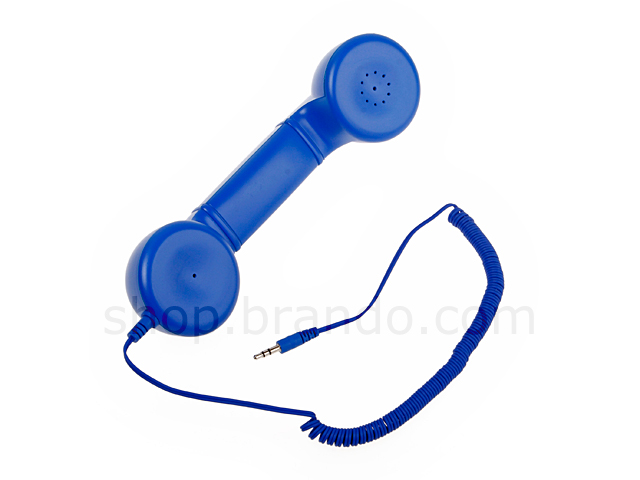3.5mm Battery-free Retro Mobile Headset + Handsfree for iPhone + HTC