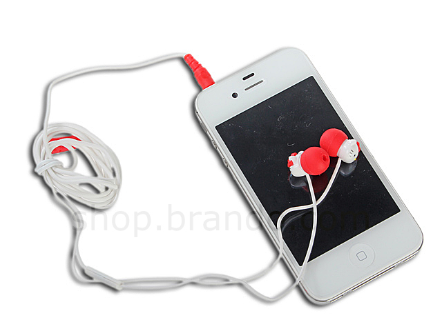Earbuds holder cute - headphone holder clear