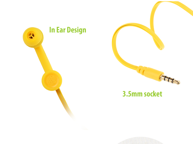 Telephone Shape Earphone