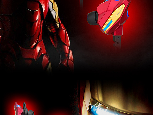 E-Blue Avengers Bluetooth Headset - Iron Man