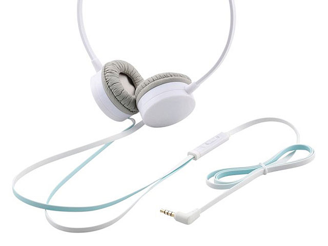 ELECOM EHP-OH200 Flat Wired Headphones