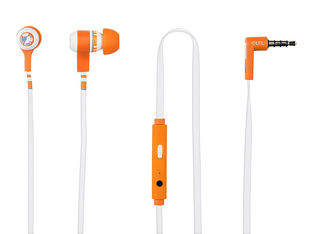 Tribe Star War BB-8 3.5mm In-Ear Headphone