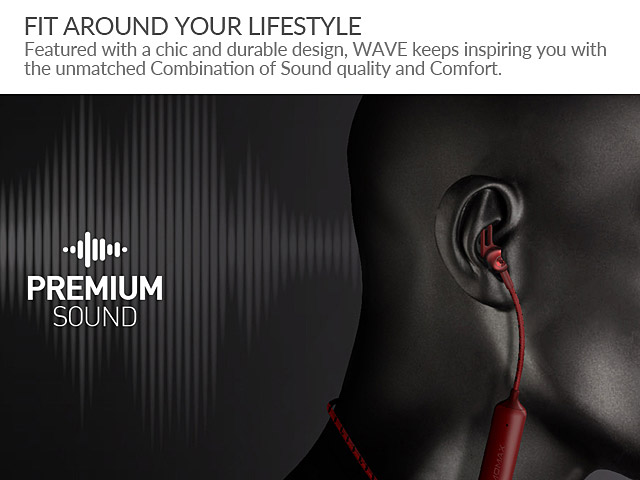 Momax WAVE Magnetic Earphone