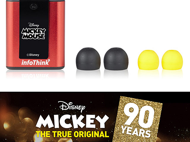 infoThink Mickey 90 Years Series Bluetooth Earphone