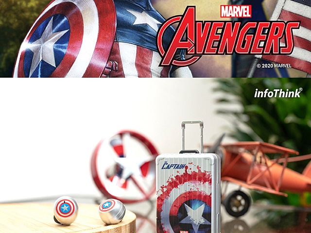 infoThink Hero True Wireless Stereo Earbuds - Captain America