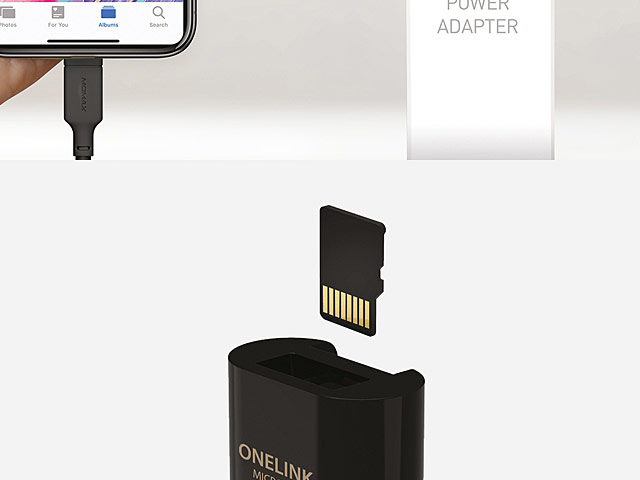 Momax One Link Micro SD Backup Adapter