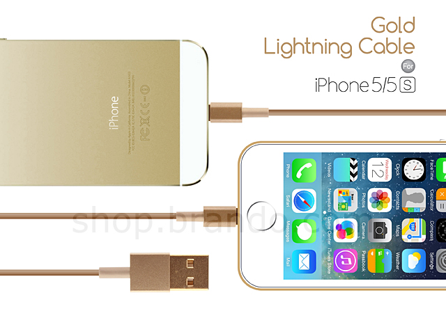 Gold Lightning Cable