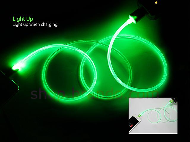Flashing Led Lightning Charging Cable