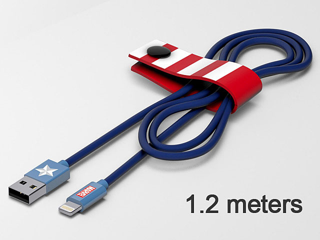 Tribe Star Wars Captain America Lightning USB Cable