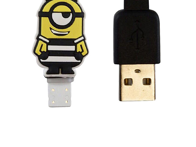 Despicable Me 3 Minion Lightning USB Cable