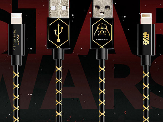 infoThink Star Wars Darth Vader Lightning USB Cable