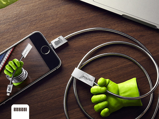 infoThink Hulk Heavy Armor Lightning USB Sync Charging Cable