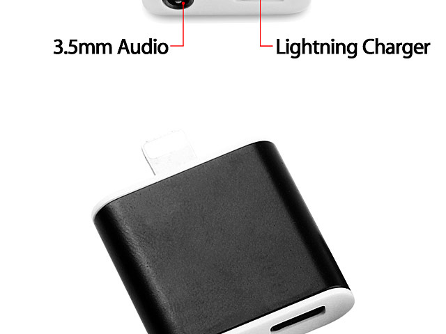 Lightning to 3.5mm Audio + Charger Adapter