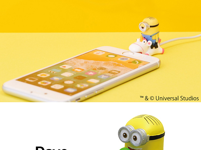 Cable Bite Despicable Me - Minion for Lightning Cable